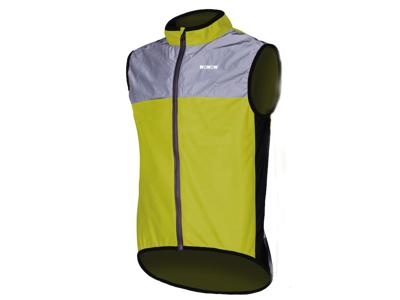 WOWOW Dark Jacket 1.1 - Refleksvest til voksne - Neongul