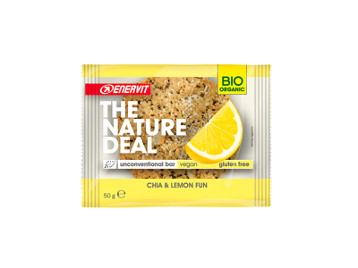 Enervit - The Nature Deal - Cookiebar - Chai & Lemon - 50g