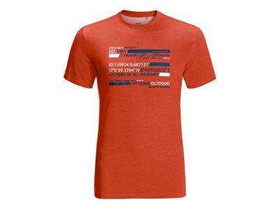 Jack Wolfskin Established - T-shirt Hr.
