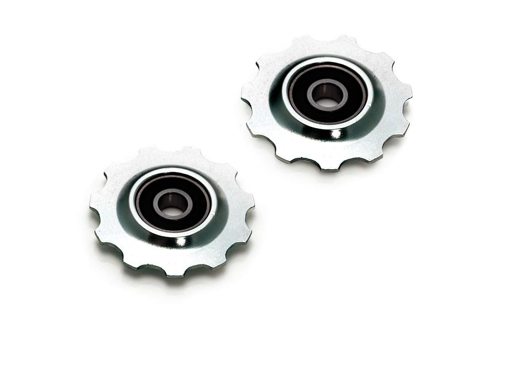 Køb XLC Pulleyhjul – 11 tands – Aluminium – Sølv