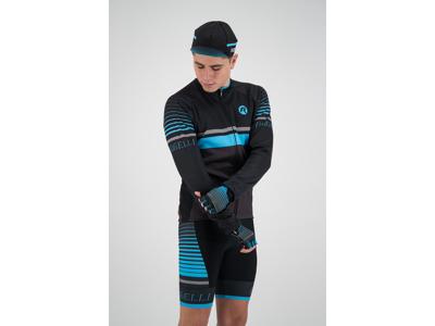 Rogelli Hero - Cykeltrøje - Lange ærmer - Grå/Sort/Blå
