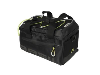Basil Miles Trunkbag - Cykeltaske til bag - 7 liter - Black lime
