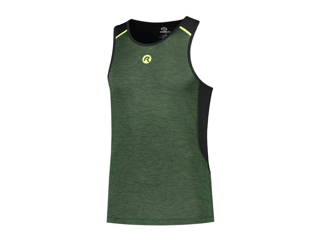 Image of   Rogelli Matrix - Sports singlet - Grøn/Sort - Str. S