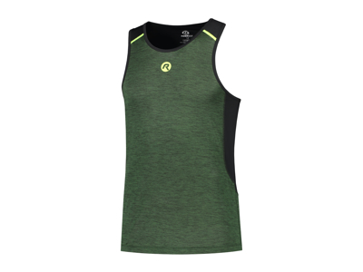 Rogelli Matrix - Sports singlet - Grøn/Sort