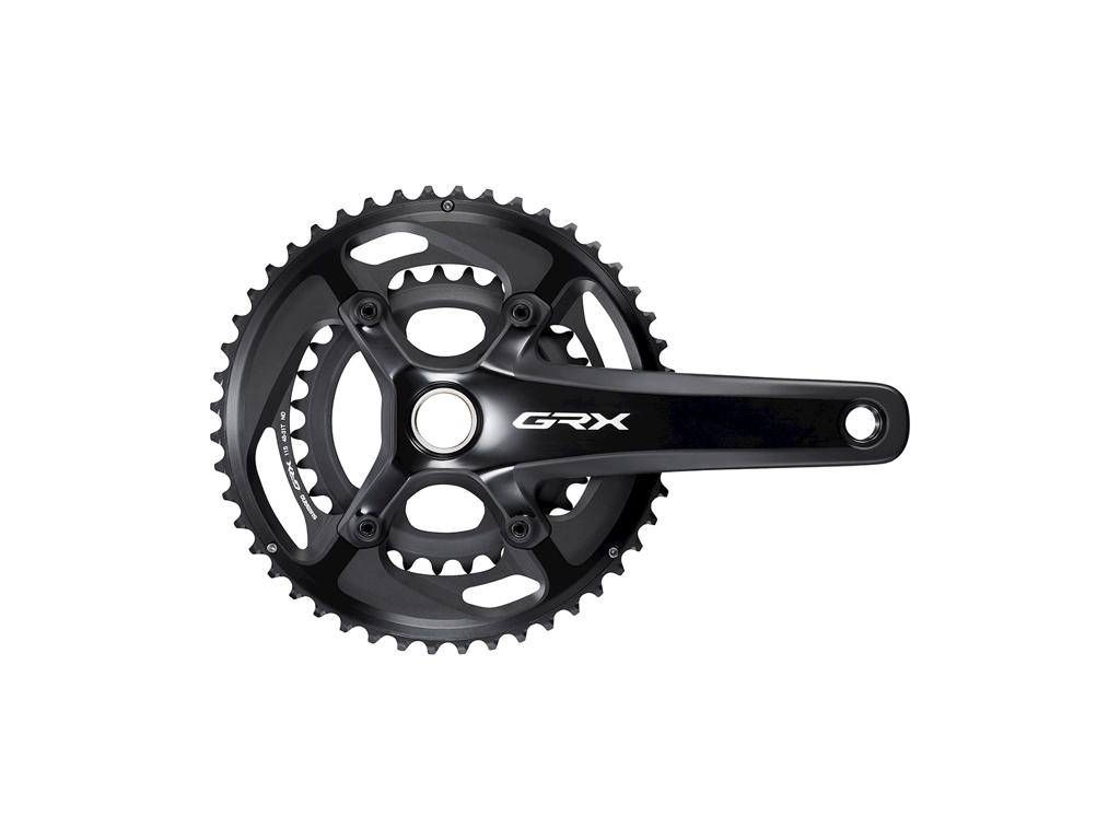 Køb Shimano GRX – Kranksæt – Dobbelt 48/31 tands – 2 x 11 gear – 175mm pedalarme – FC-RX810