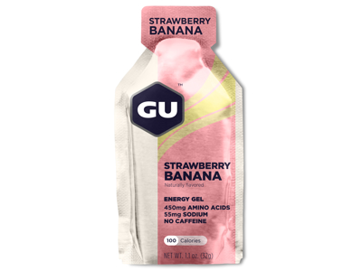 GU Energy Gel - Strawberry Banana - 32 gram