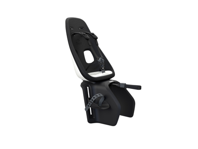Thule Yepp Nexxt Maxi - Cykelstol med 5-punktssele - Bagagebærermonteret - Sort/hvid