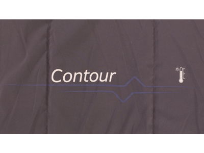 Outwell Contour - Sovepose - Aflynelig pude - Lilla