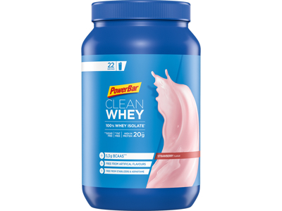 Powerbar - Clean Whey - Jordbær - 570 gram