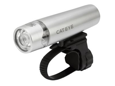 Forlygte Cateye Uno 1 LED Sølv - 400 Candela