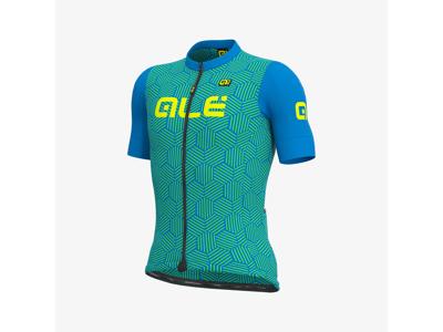 Alé Solid Cross - Cykeltröja med korta ärmar - Blå