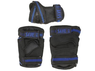 Save My Bones - Beskyttelsessæt - Sort/Blå