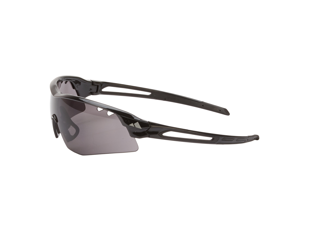 Ongear Mont Blanc - Cykelbrille med PC Smoke linse - Mat sort