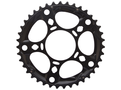 Shimano - 39 tands klinge - Triple - 10 gears - FC-R563 - Sort