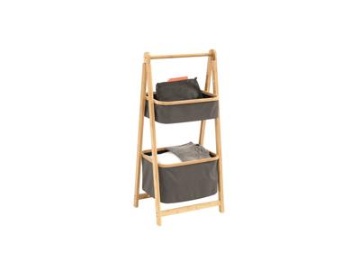 Outwell Padres Storage Rack M - Foldbar Reol - Grå/Brun