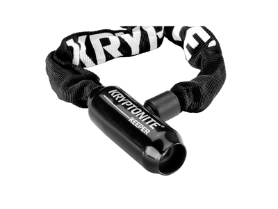 Kryptonite Keeper 585 - Kædelås med nøgle - Nylon overtræk - 5mm x 85cm
