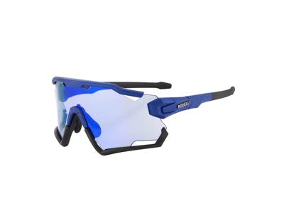 Rogelli Switch - Sykkelbriller - TR-90 - 3 sett med linser - Blå / Svart