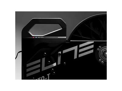 Elite Suito-T - Interaktiv treningssykkel med stigerørsblokker - Zwift