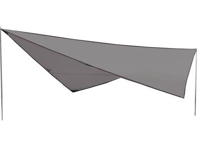 High Peak Tarp 2 - Tarp solsejl - 400 x 400 cm - Grå