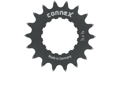 Connex E-Bike - Gearhjul 18 tands 3,1mm tyk - Bosch Active/Performance/CS moters