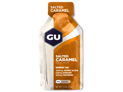 GU Energy Gel - Salted Caramel - 20 mg koffein - 32 gram