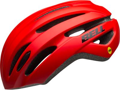 Bell Avenue Mips - Cykelhjelm - Mat/Glans Rød/Sort - Str. 54-61 cm