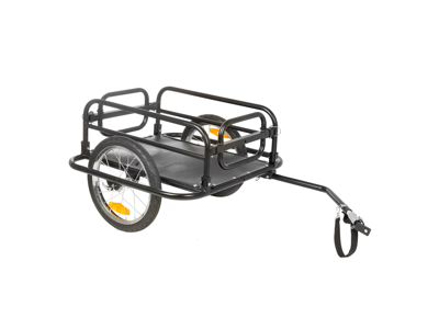 M-Wave Stalwart Carry Fold 2 - Cykeltrailer - Foldbar - Max vægt 40 kg - Sort