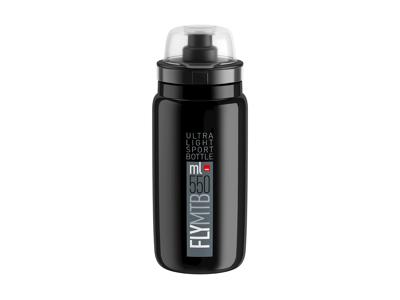 Elite Fly MTB - Drikkedunk 550ml  - 100% Biologisk nedbrydelig - Sort