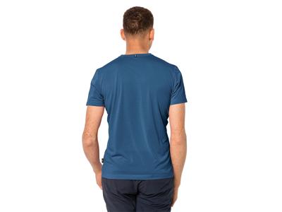 Jack Wolfskin Active T-Shirt - Hr. - Indigo Blue