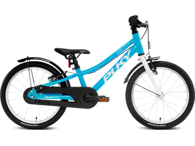 """Puky Cyke - Børnecykel 18"""" - Alu med friløb - Blue/white"""