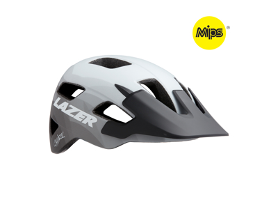 Lazer Chiru MIPS - Cykelhjelm MTB - Mat hvid