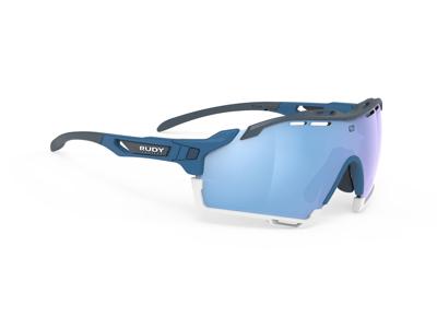 Rudy Project Cutline - Løbe- og cykelbrille - Multilazer Ice linser - Pacific blå mat
