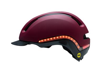 Nutcase - Vio MIPS - Sykkelhjelm med LED - Cabernet