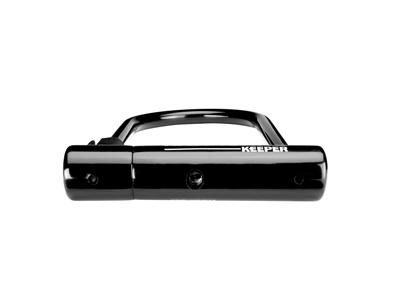 Kryptonite Keeper - Bøjlelås U-Lock 12 standard - 10,2 x 20,3cm - Sort