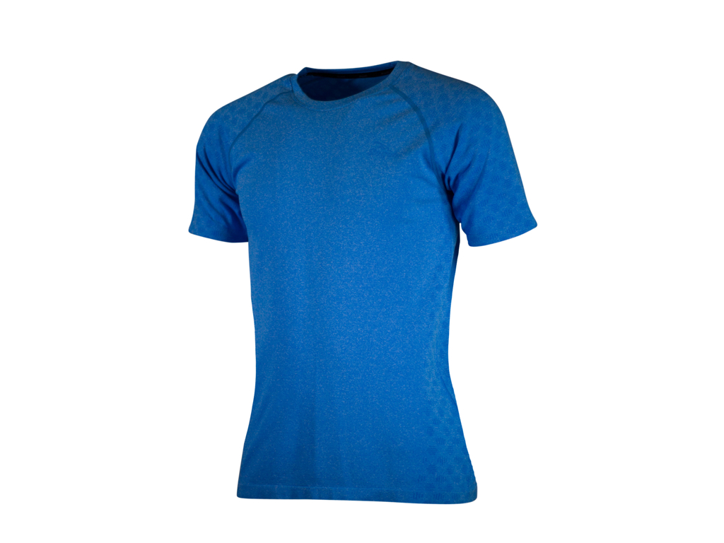 Image of   Rogelli Seamless - Sports t-shirt - Blå - Str. M