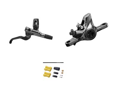 Shimano XTR M9100 - Hydraulisk bremsesæt - Bag/højre - Resinl klodser