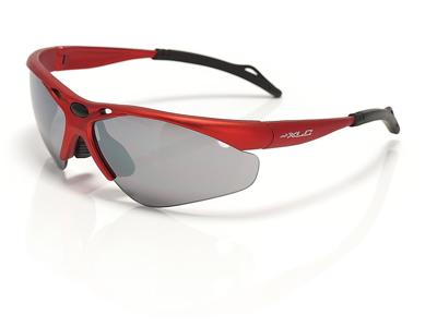 XLC - Tahiti - Cykelbrille - 3 sæt linser - Rød/Sort