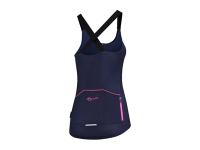Rogelli Twist - Tank Top - Dam - Race Fit - Blå / rosa