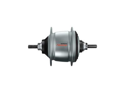 Shimano Nexus - Bagnav med 8 gear og til fælgbremse - Type: SG-C60018-V-ASA - Sølv