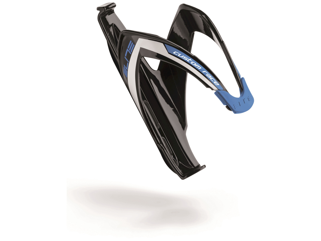 Image of   Elite Custom Race - Flaskeholder - Glossy blue graphic