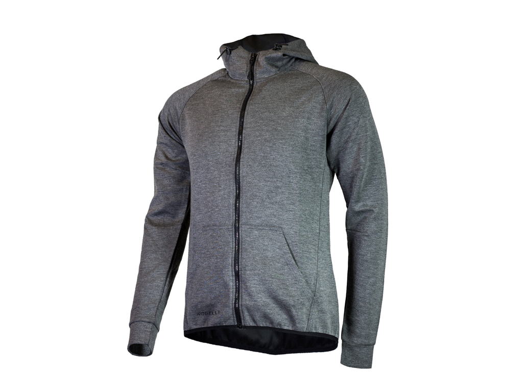 Image of   Rogelli Training - Sports hoodie - Carbon - Str. S