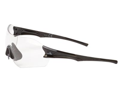 Ongear Ventoux - Cykelbrille med PC fotokromiske linser - Blank sort