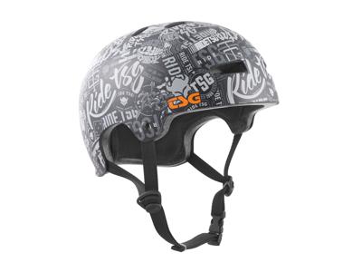 TSG Evolution graphic - Cykel- og skaterhjelm - Stickerbomb