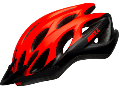 Bell Charger - Sykkelhjelm - Størrelse 50-57 cm - Rød sort