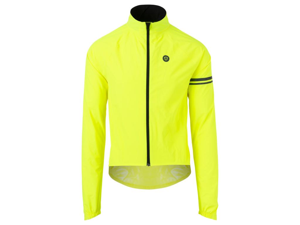 Image of   AGU Jacket Essential Rain - Cykelregnjakke - Neon Gul - Str. M