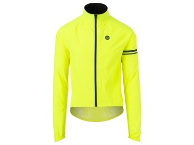 AGU Jacket Essential Rain - Bike Rain Jacket - Neon Yellow