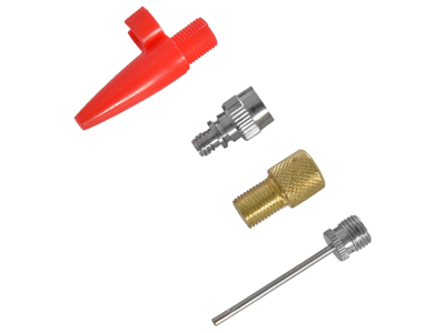 OXC - Pumpadaptersats - För kulor, luftmadrass och cykelventiler