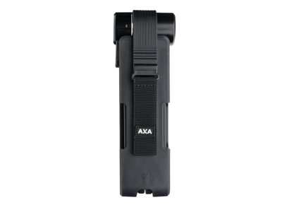 AXA Newton FL90K - Foldelås med nøgle - 90 cm - Sort