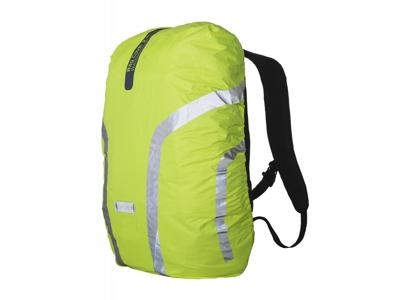 WOWOW Bag Cover 2.2 - Reflekterende overtræk til rygsæk op til 25 liter - Neongul