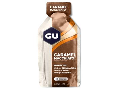GU Energy Gel - Caramel Macchiato - 40 mg koffein - 32 gram